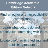 link to Cambridge Academic Editors Network