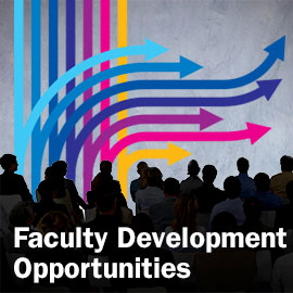 Faculty Development Opportunities Button