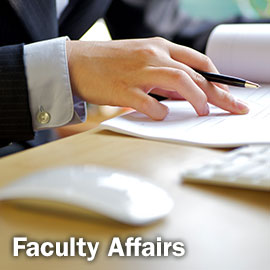 Faculty Affairs Button
