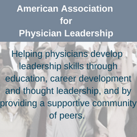 link to American Association for Physician Leadership website