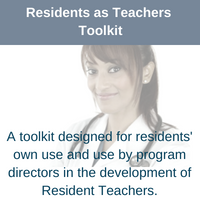 link to Residents as Teachers Toolkit