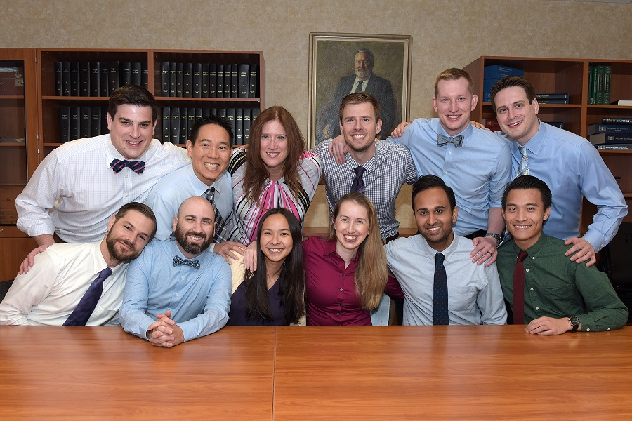 urology residents 2017